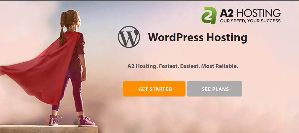 A2Hosting för WordPress